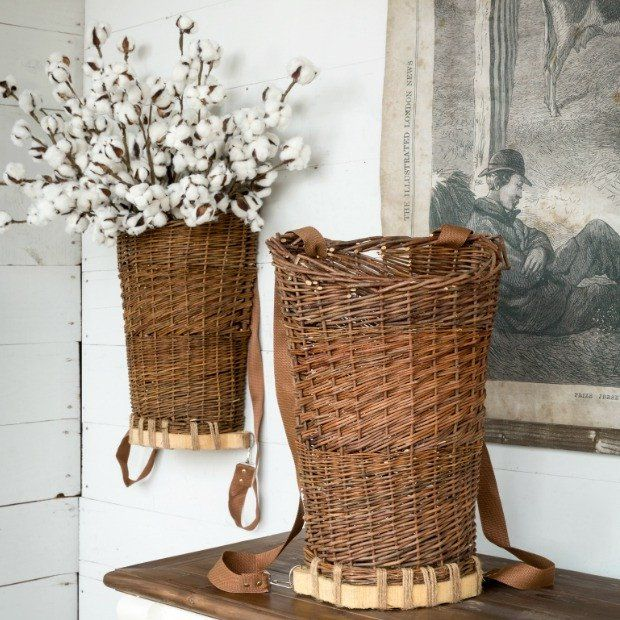 Willow Hanging Basket Wall Decor Baskets On Wall Basket Wall Decor Basket Decoration
