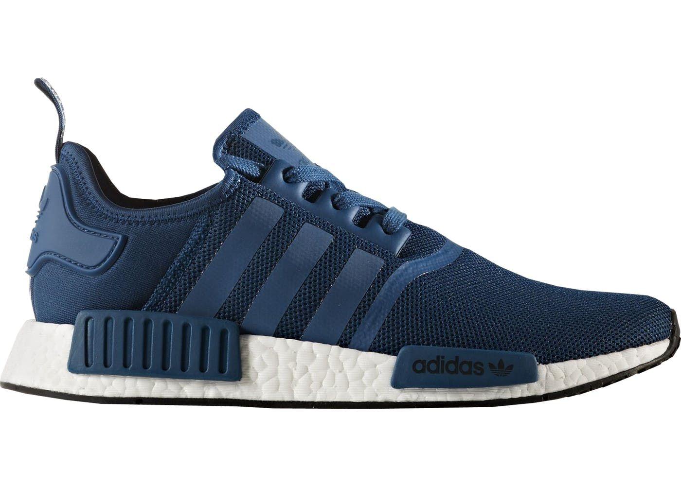 Adidas Nmd R1 Blue Night Adidas Shoes Women Adidas Nmd Blue Womens Tennis Shoes