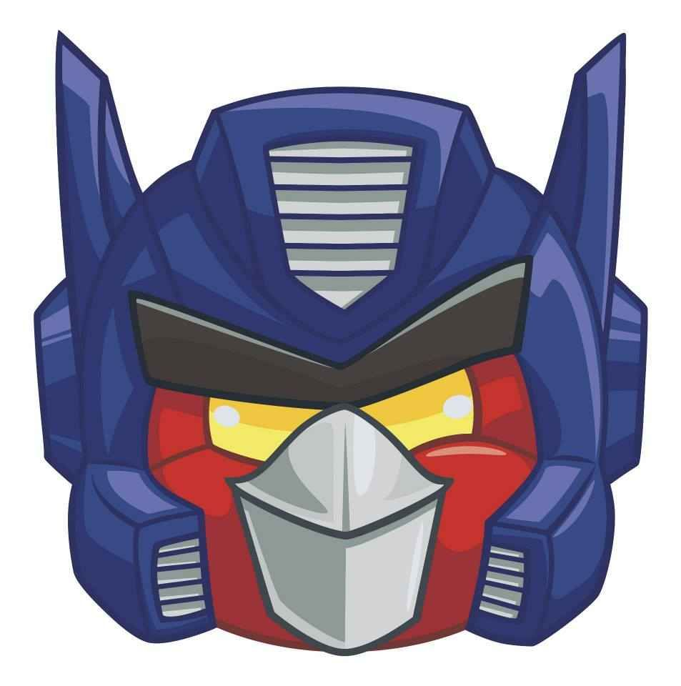 Official Angry Birds Transformers Character Art Angry Birds Transformers Characters Angry Birds Characters