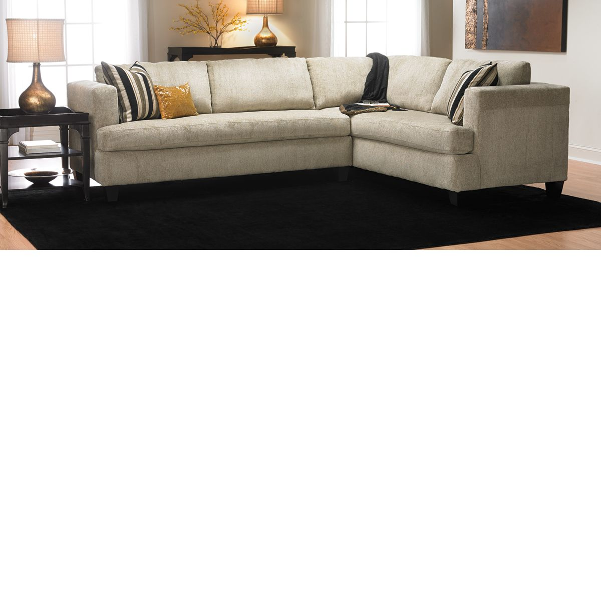 The Dump Furniture - COLDWELL SECTIONAL SOFA   For the Home ...