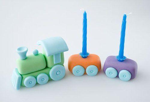Поезд из пластилина - мастер-класс, фото 7 | Детский торт ...