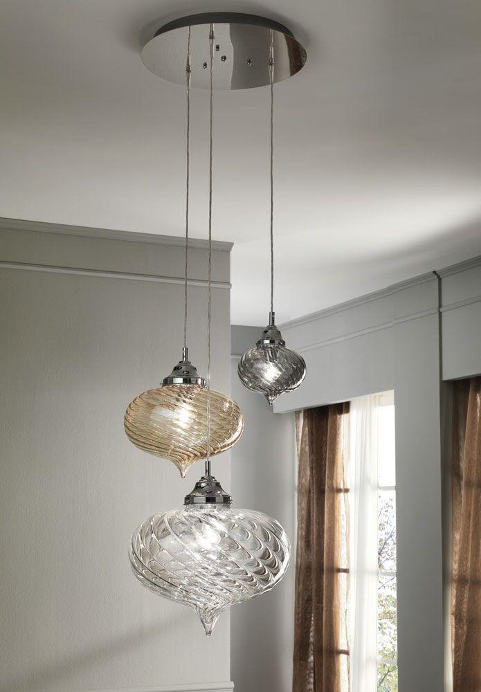 Arabesque Cangini Tucci Glass Blowing Art Illuminazione Soggiorno Illuminazione Soffitto Lampadari