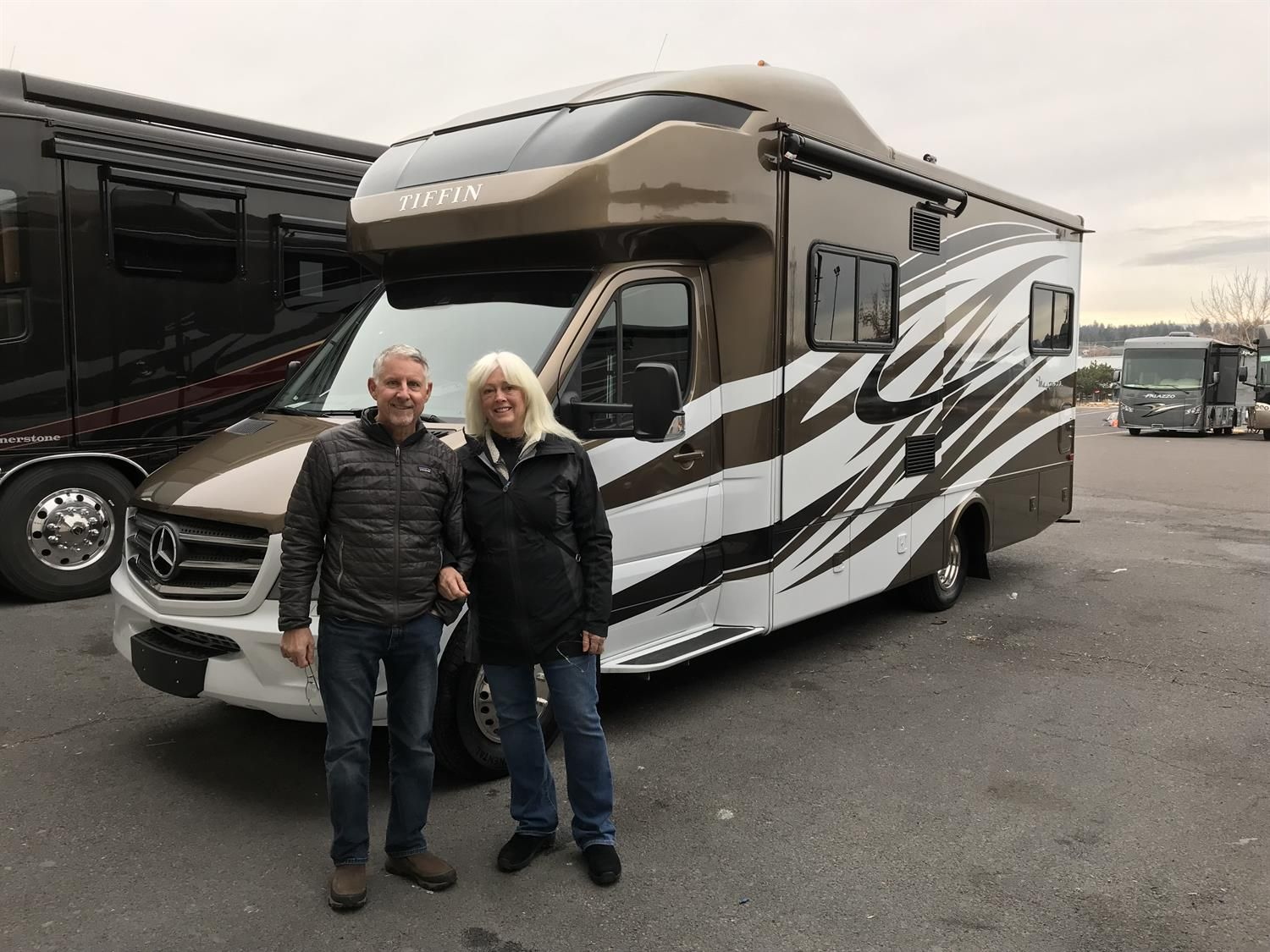Ed And Sherie S New 2018 Tiffin Wayfarer Congratulations And Best