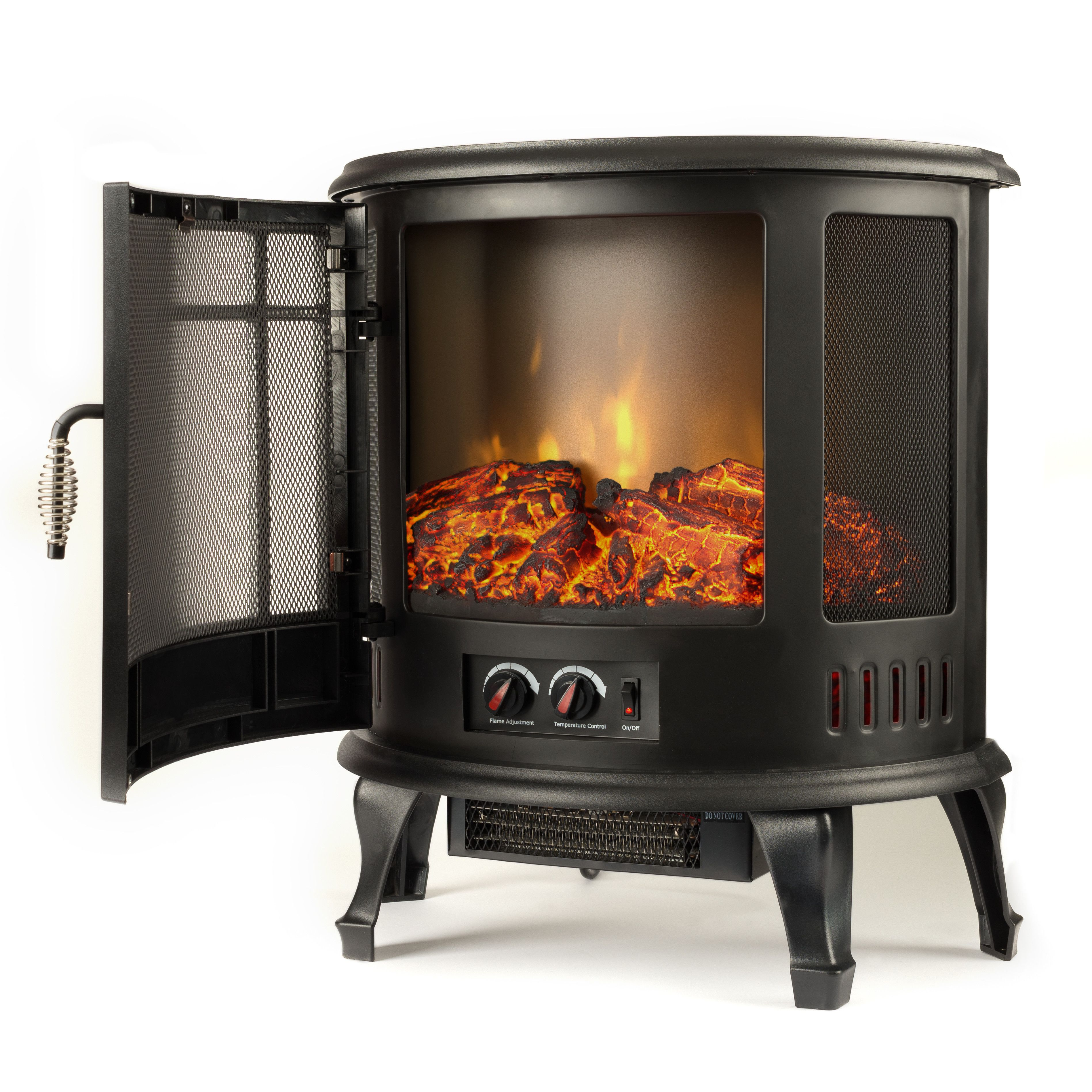 Regal Electric Stove In 2020 Portable Electric Fireplace Electric Fireplace Free Standing Electric Fireplace