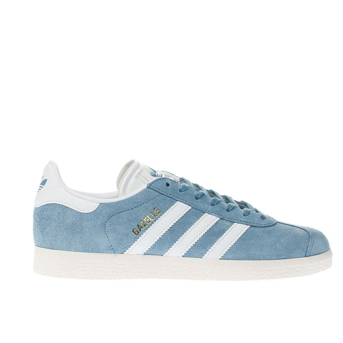 Damen Sneaker Blue Adidas Originals Gazelle Schuh Sneaker