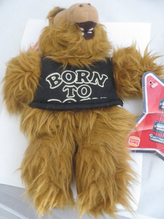 Vintage Alf Alien TV Character Plush Burger King by PECollectibles