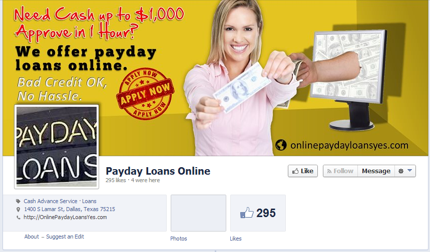 30 days pay day financial products