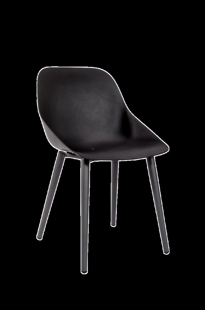 Leeu Kunststoffstuhl Schwarz Interio Online Outdoor Ideas Furniture Chair Outdoor