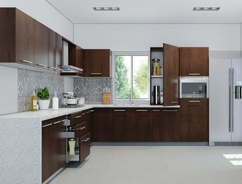 U shape Modular Kitchen Manufacturers in Gurgaon (With ...