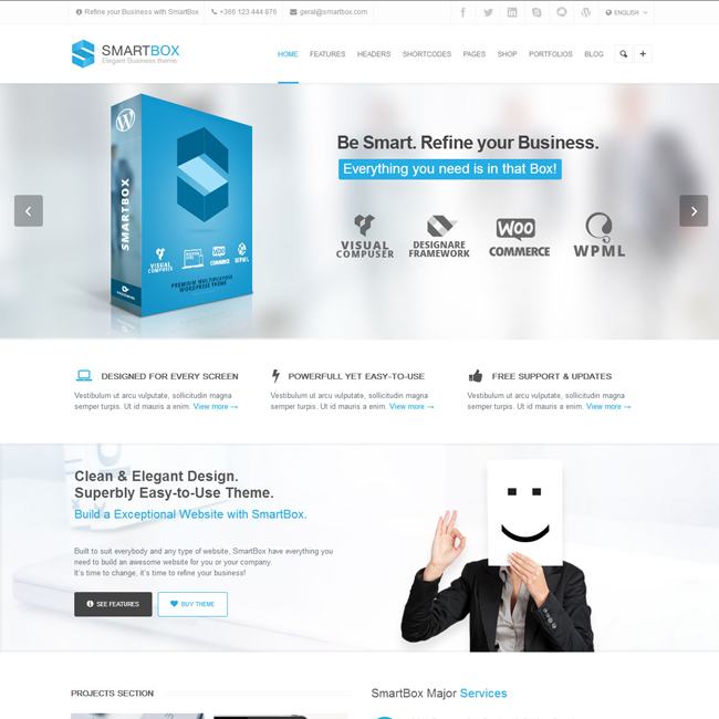 SmartBox Responsive MultiPurpose WordPress Theme | Best WordPress ...