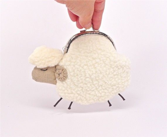 sheep coinpurse