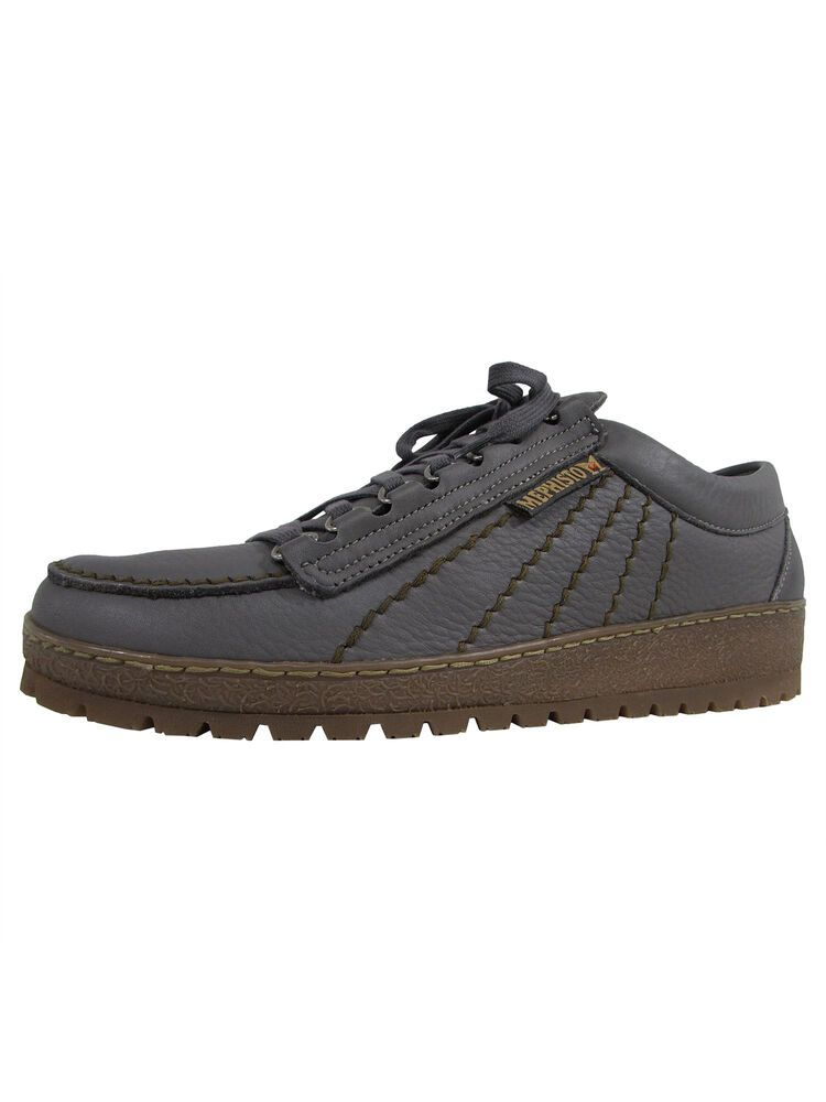 5c1e86ffcc (eBay Sponsored) Mephisto Mens Rainbow Moc Toe Sneaker Shoes, Dark Grey, US
