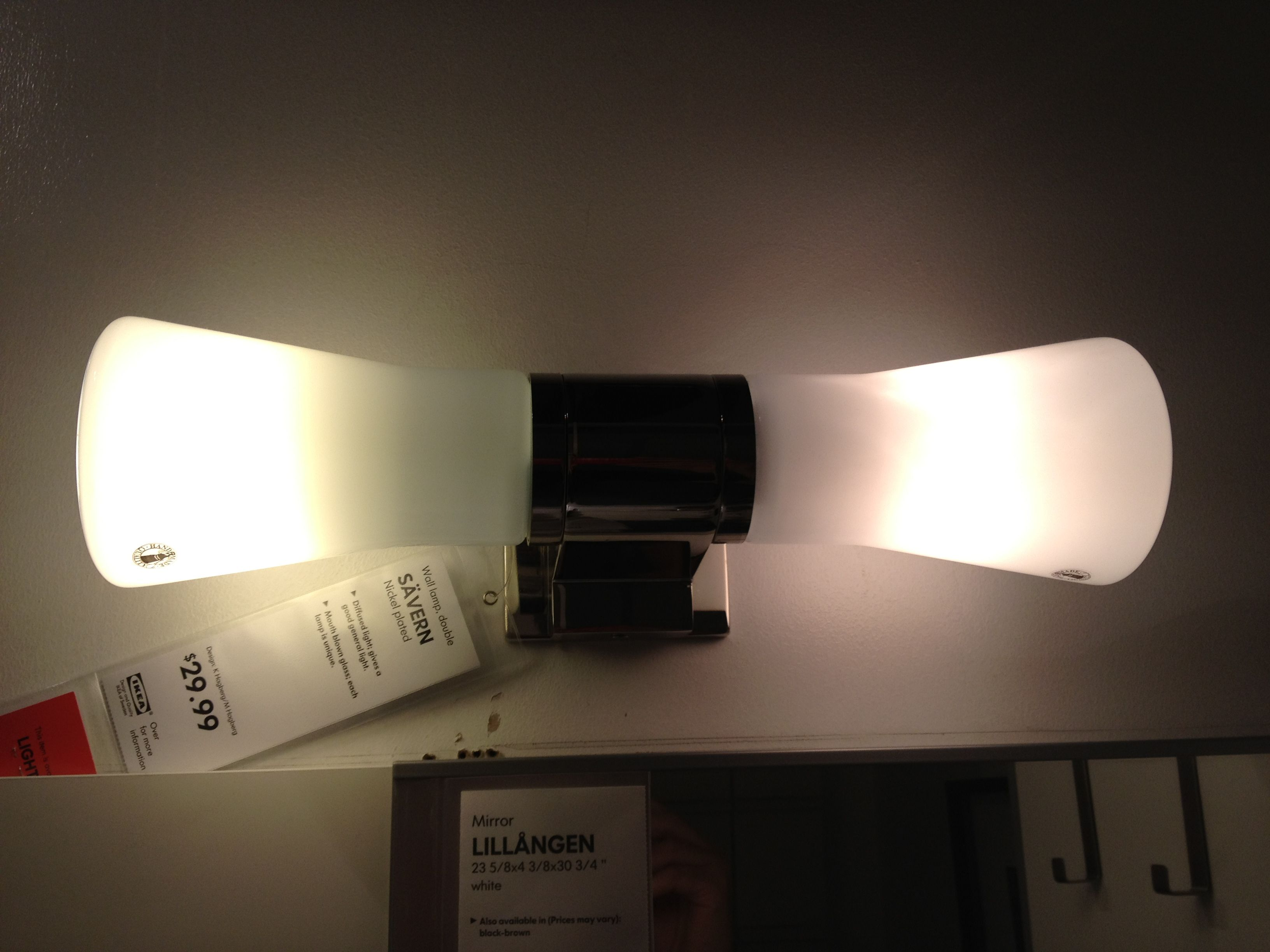 Bathroom Lighting Ikea ikea bathroom light | bathrooms | pinterest | ikea bathroom