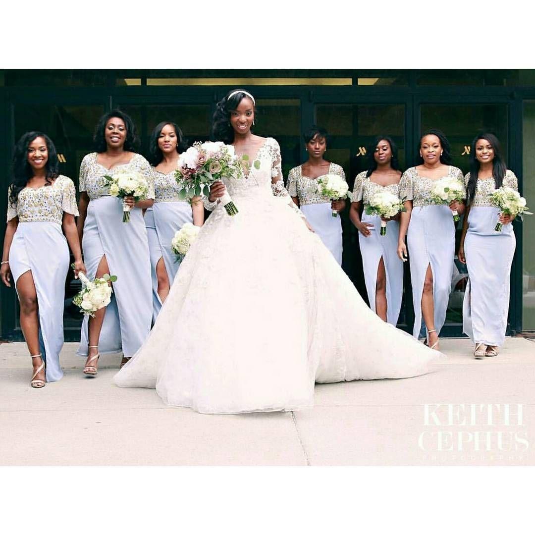 Beautiful Bride Ifechi And Her Girls Wedding Planners Raeaffairs
