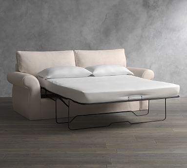 Pearce Slipcovered Sleeper Sofa Polyester Wrapped
