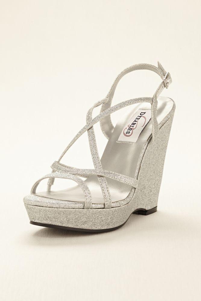 f0f14bd5da Dyeable Dee Platform Wedge Wedding & Bridesmaid Sandal Women's ...