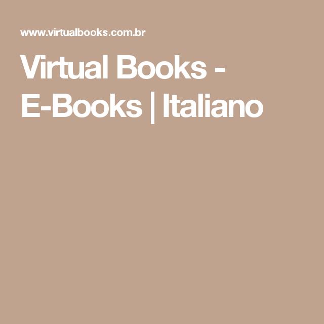 Virtual Books - E-Books   Italiano