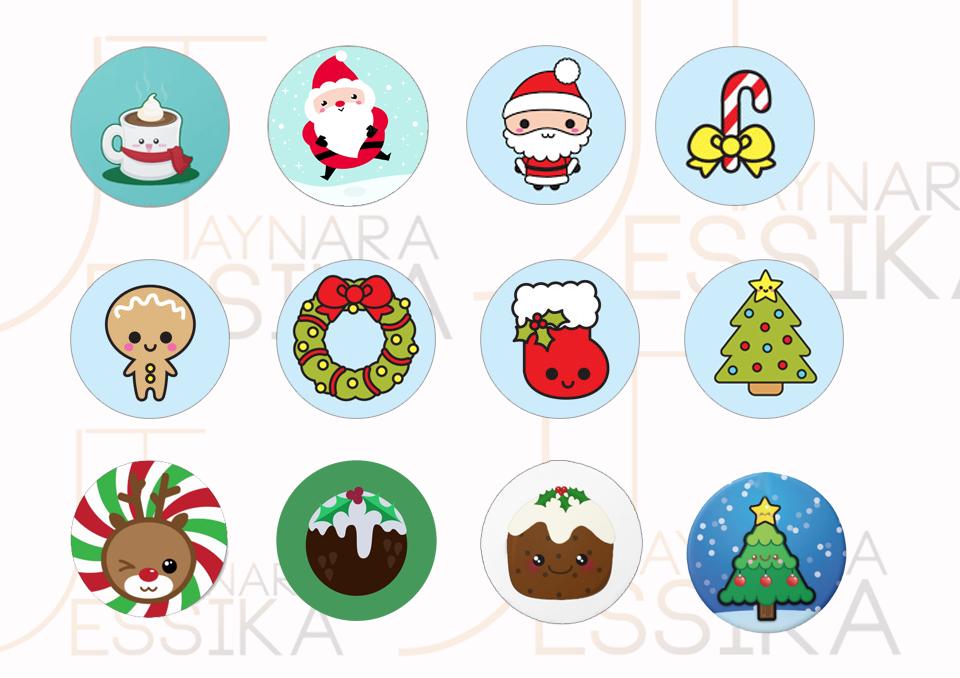 Moldes Para Fazer Enfeite De Arvore De Natal Kawaii Desenho De