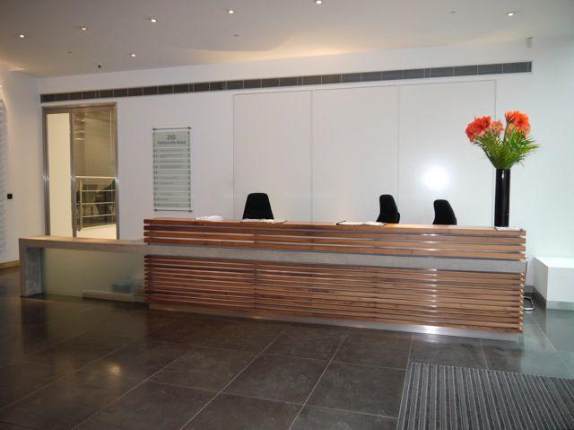 Amercian Black Walnut And Cast Concrete Reception Desk Jpg 640 479