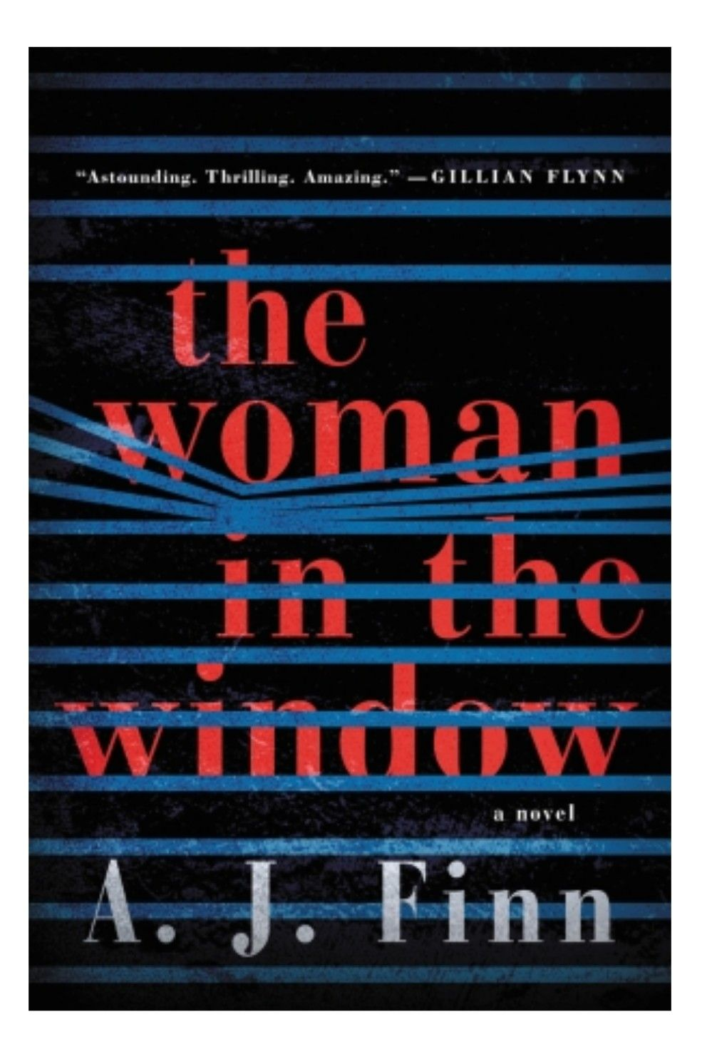 The Woman In The Window By A J Finn Thriller Books