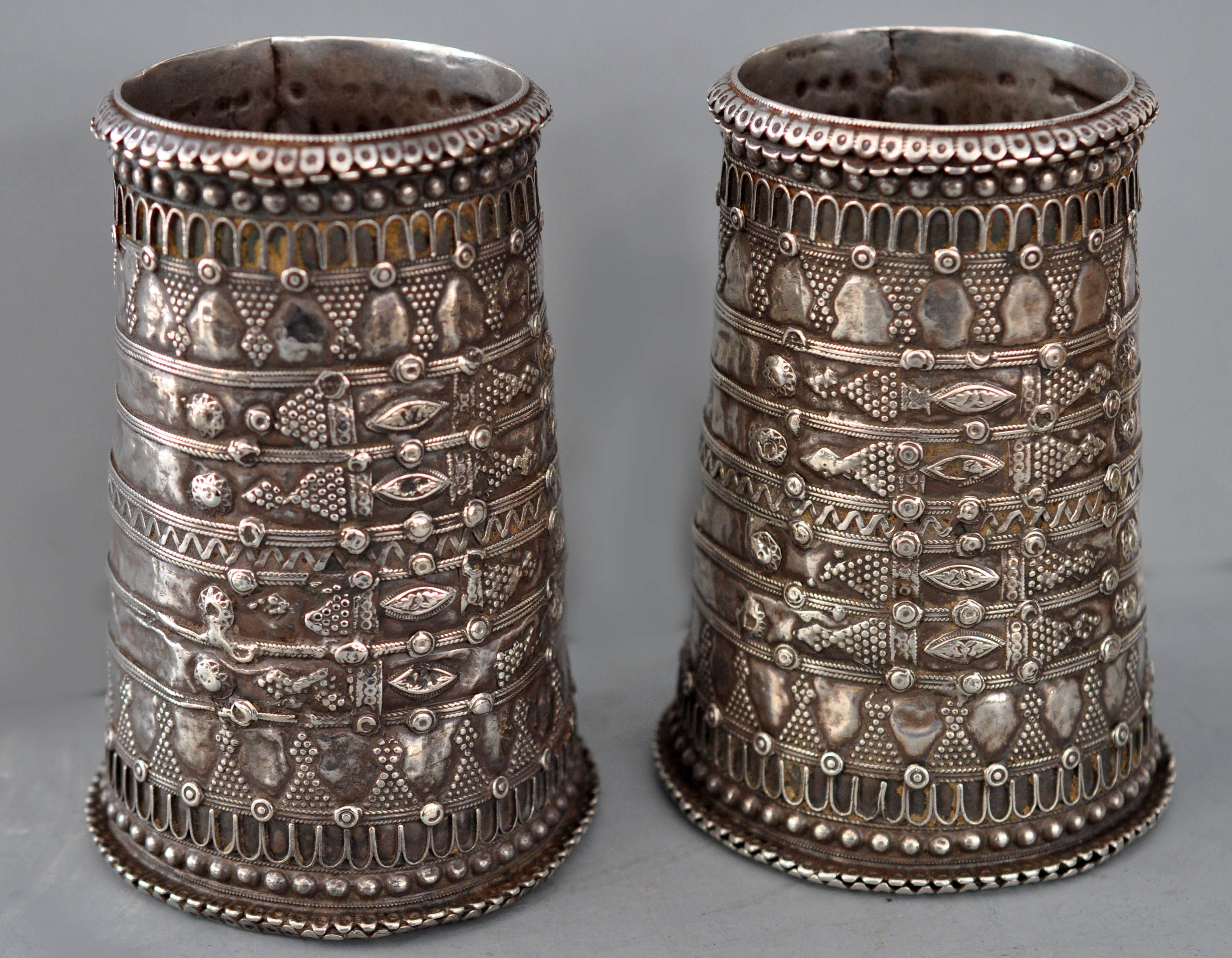 cuffs, with intricate applique lt 18th /early 19th c Rajasthan (private collection Linda Pastorino)