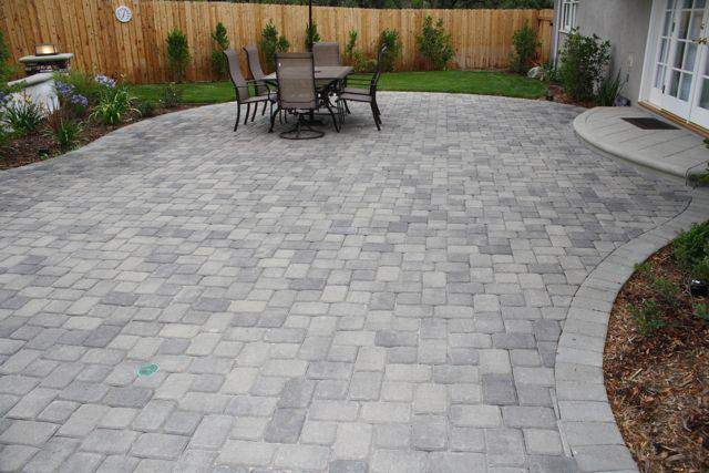Paver Patio Ideas In Small Backyard Google Search Paver Patio Patio Pavers Design Patio Design