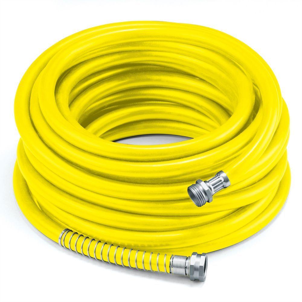 58 x 100 premium rubber garden hose yellow pex