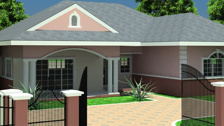 Ghana house plans simple house plans pinterest for 5 bedroom house plans in ghana
