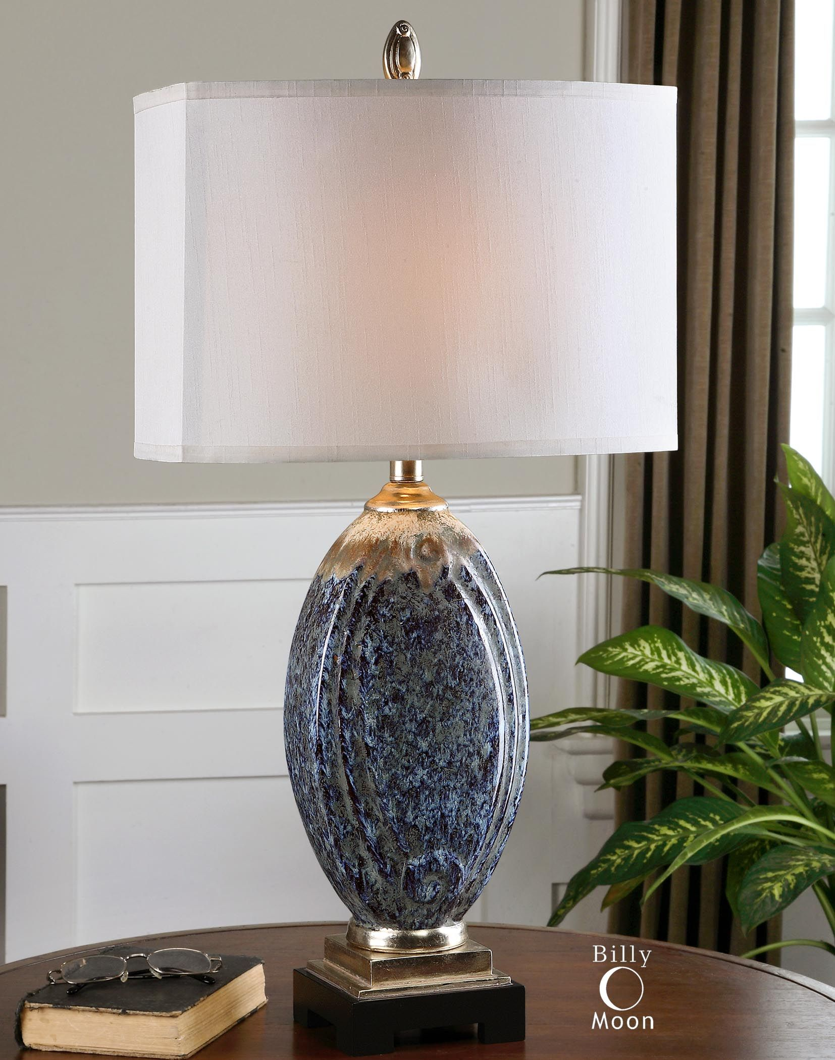 Uttermost Blue Latah Lamp - What do you think about blue lamps?