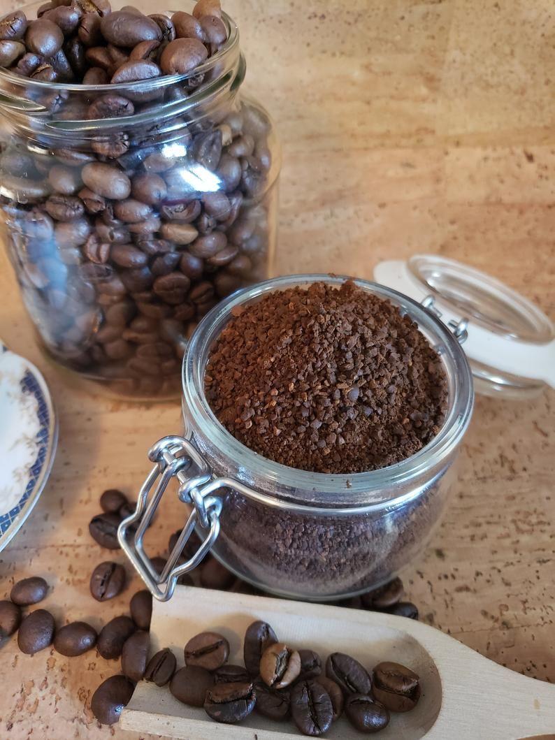 All natural organic fair trade coffee sugar body scrub