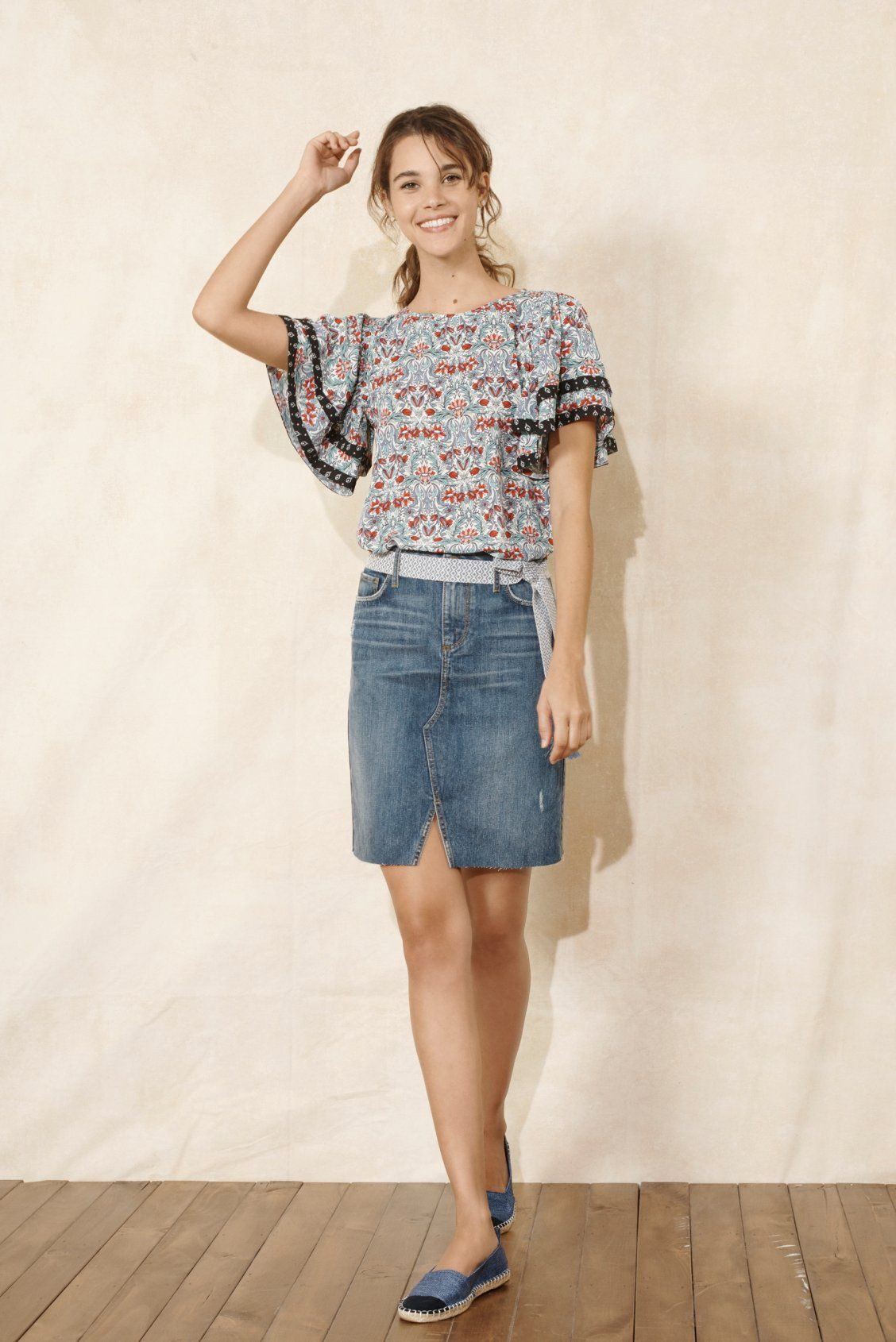 14a6537a5c We've got a major crush on this denim skirt | Most Loved Looks ...