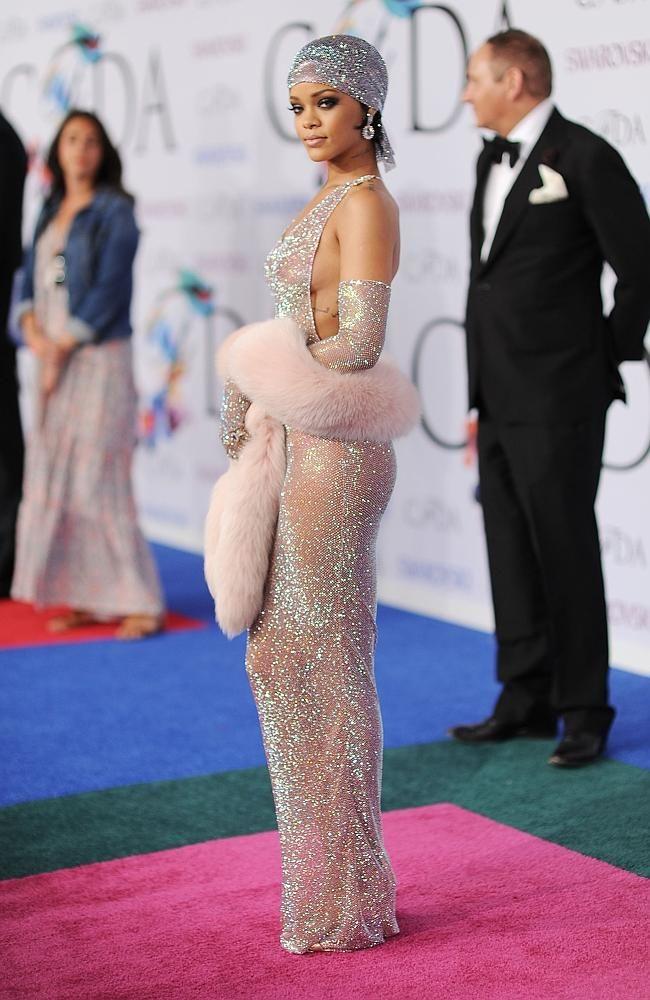 Talk Rihanna see through dress opinion