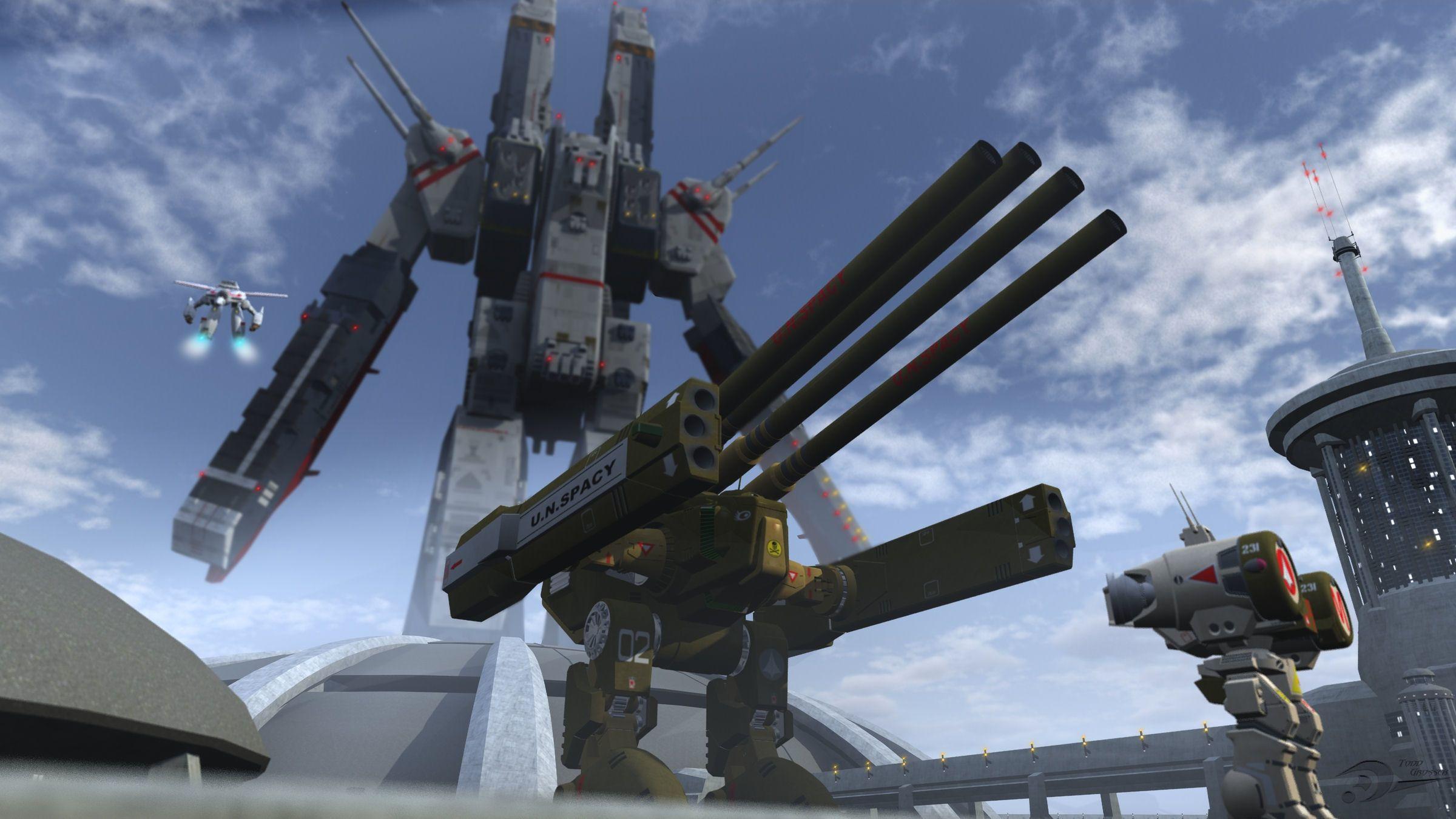 robotech anime robotech desktop wallpaper download anime