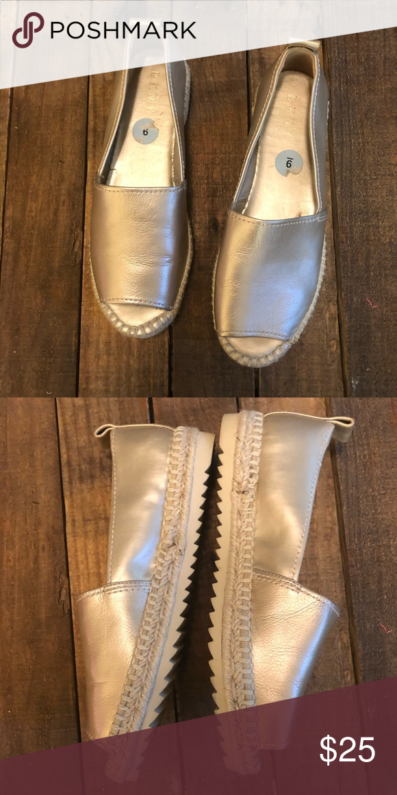 used condition Dkny Shoes Flats