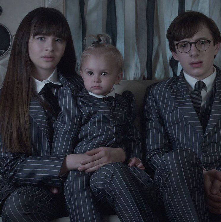 Pinstripe Suits Are In A Series Of Unfortunate Events Event