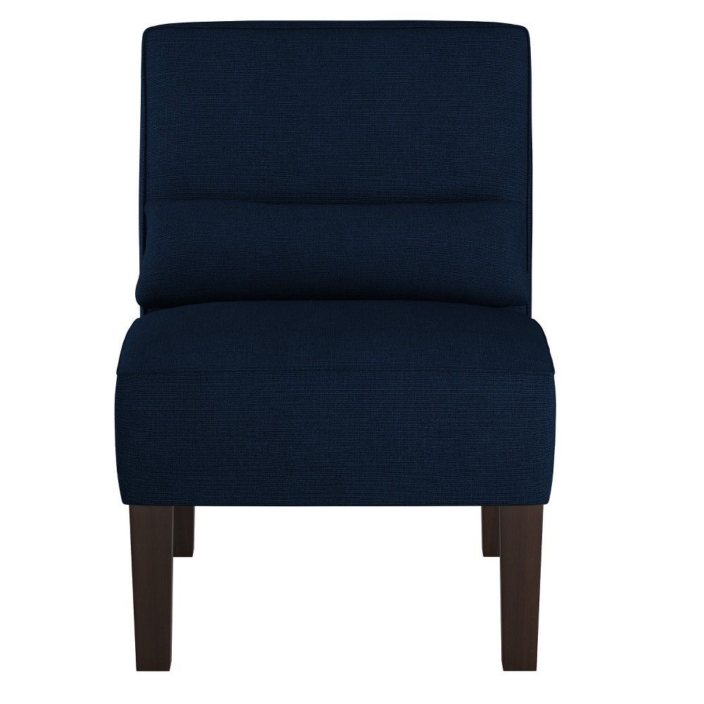 Best Armless Chair Linen Navy Skyline Furniture Armless 640 x 480
