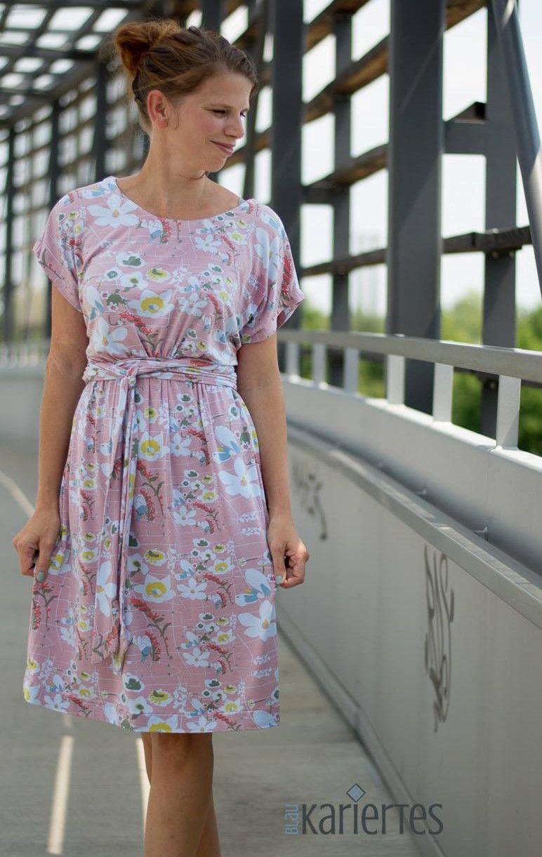 Schönes Damenkleid aus Modal selber nähen in 4  Kleider damen