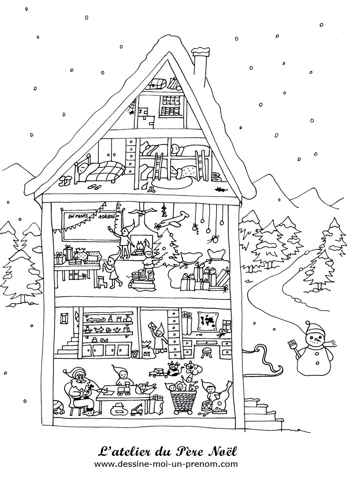 pere noel et cheminee dessin dessin de la hotte du pere noel hoegulismijngemeente. Black Bedroom Furniture Sets. Home Design Ideas