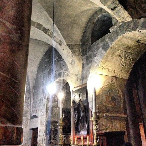 Repent, in 333, by the command of the Emperor Constantine, has been built a basilica #holy #christ #Padgram