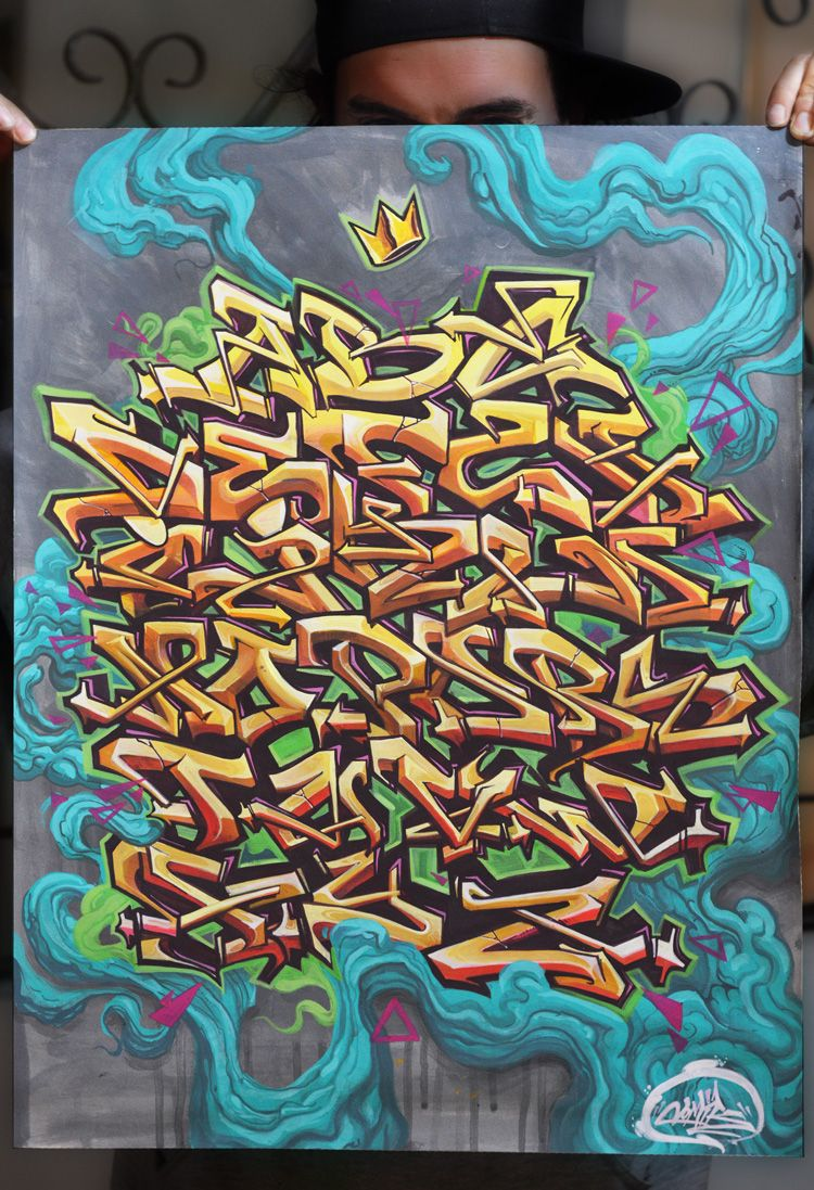 Graffiti alphabet typography pinterest graffiti - Graffiti alfabet ...