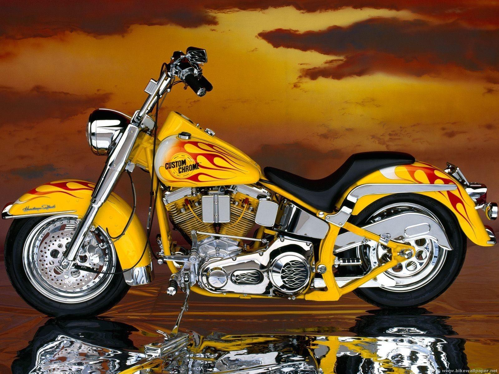 Harley Davidson Custom Chrome Harley Davidson