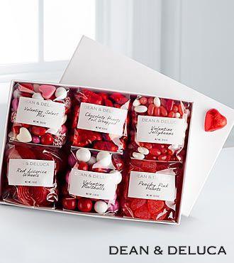 Dean & Deluca Sweets For My Sweetie Valentine Gourmet Gift Basket ...