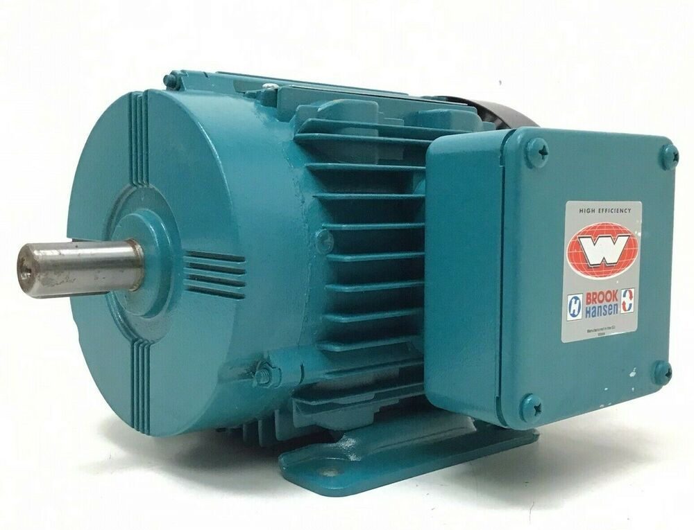 Brook Hansen 1hp 3 Phase Ac Motor 3420 Rpm 1927105wa 00 Industrial 80 56 Frame Brookhansen In 2020 With Images Graphic Card Hansen Electronic Products