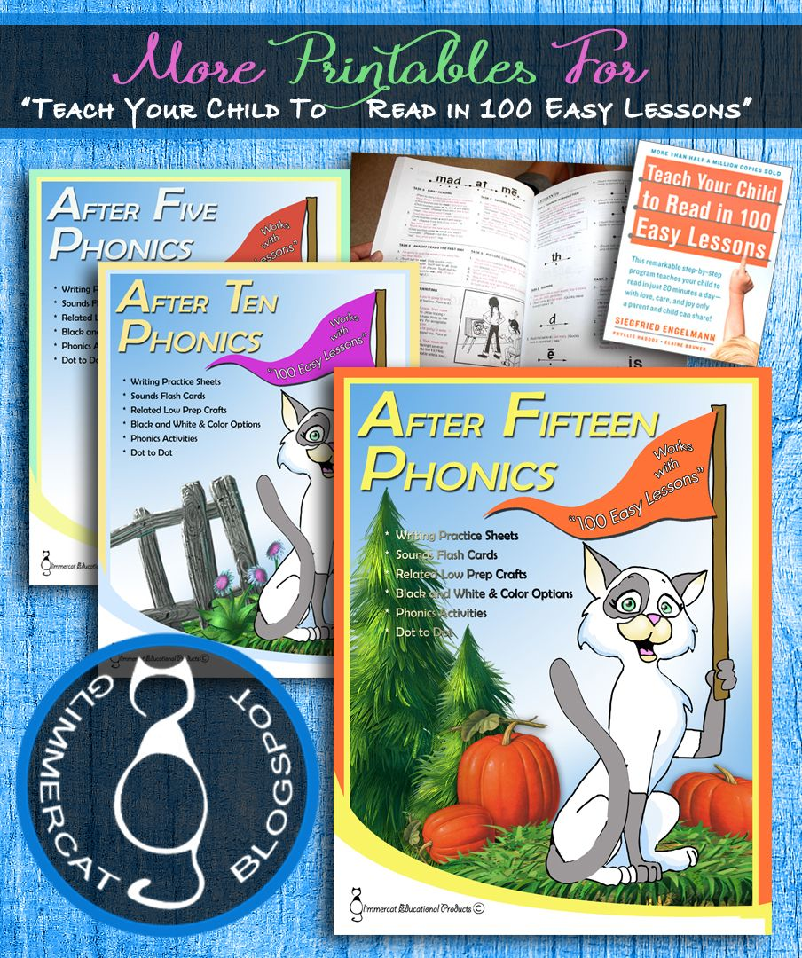 Those Little Extras For Teaching Your Child To Read With 100 Easy