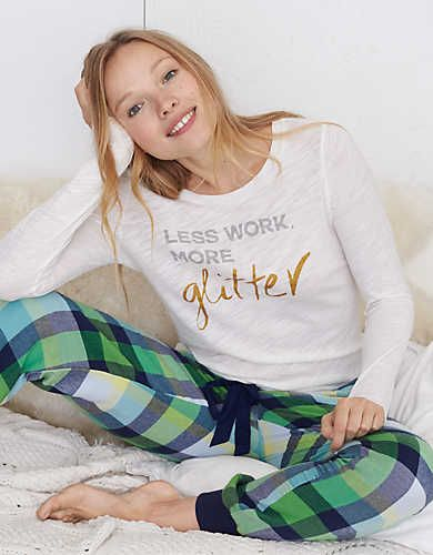 Aerie Real Soft® Graphic Tee, Cream | Aerie for American Eagle