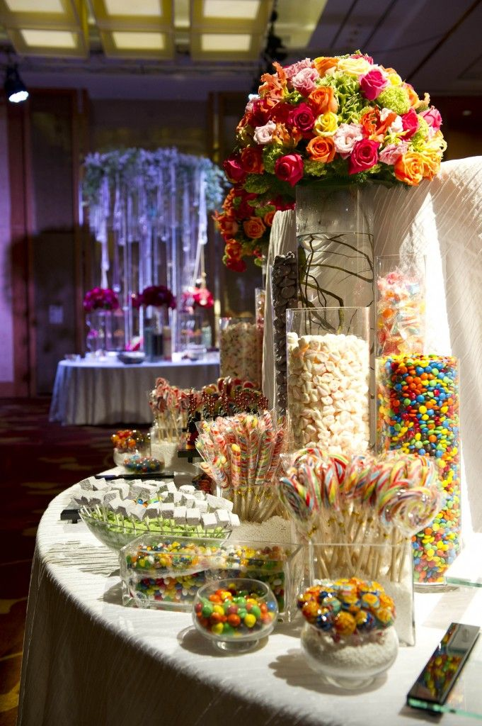 Candy Themed Wedding Candy Themed Display Wedding Ideas