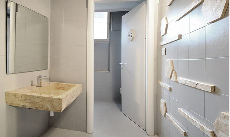 View full picture gallery of Bagno Low-cost In OSB | Remodeling on a ...