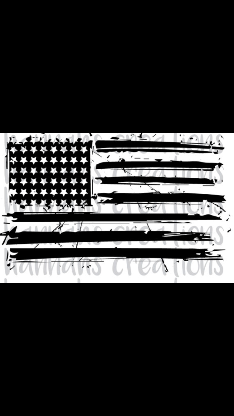 Distressed American Flag Download Png Dxf Svg Cool American Flag American Flag Svg