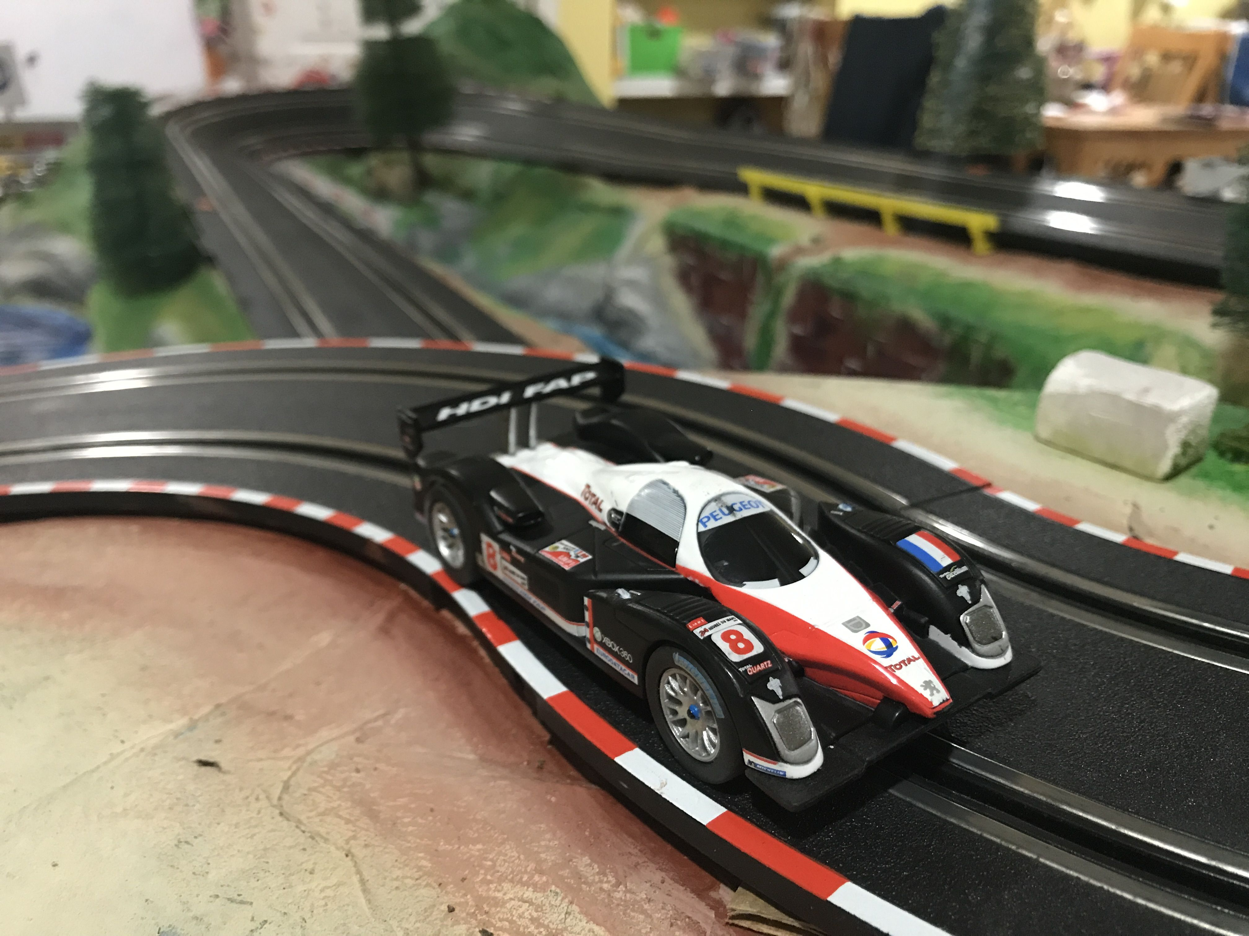 Peugeot 908 Carrera Go 1 43 Slot Car Slot Cars Slot Car Tracks Slot Racing