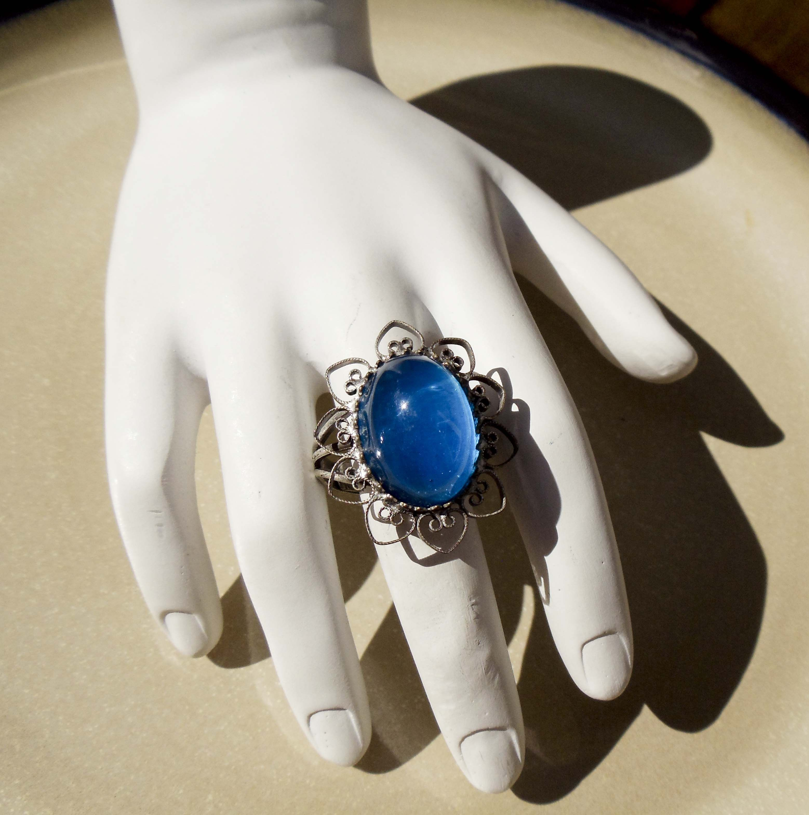 Win this adjustable vintage ring from Pagan Cellar Jewelry! Ended 7/15